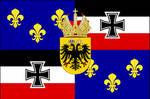 Flag of Franco-Germania Version 2.0