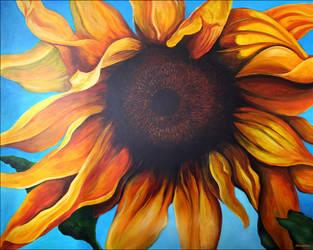 Sun Flower by Alienjedna