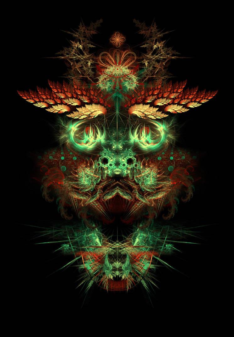 Metaface 'Dragon'