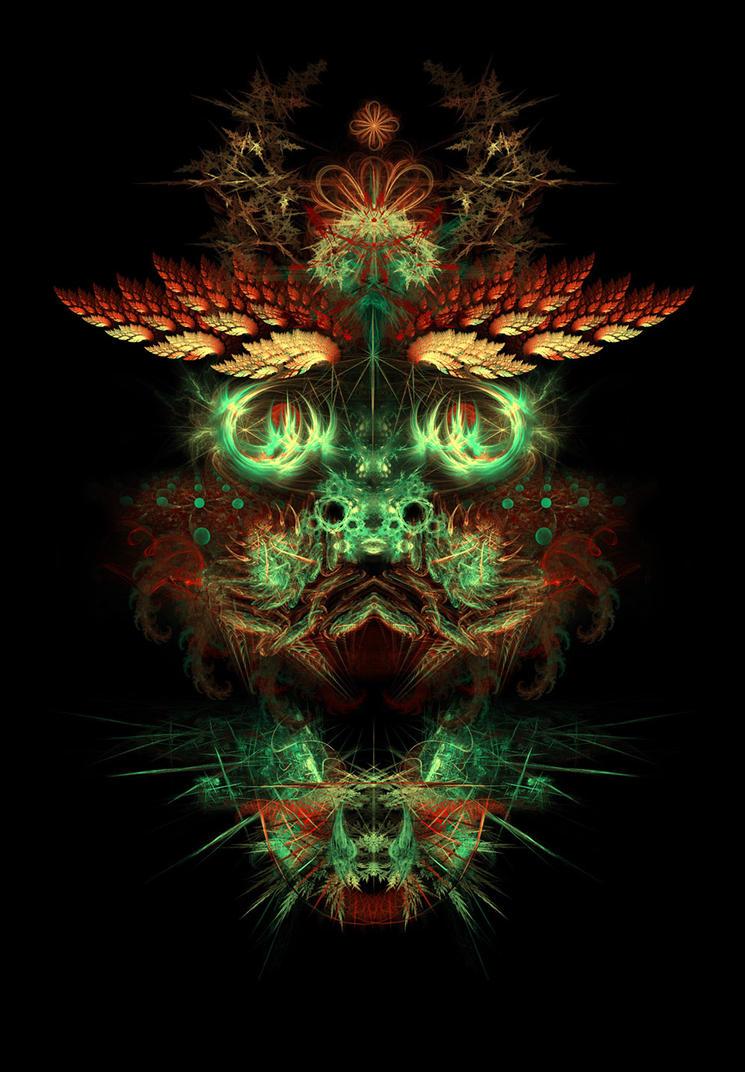Metaface 'Dragon' by Alienjedna