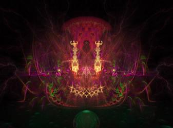 ANCIENT GOD 2 by Alienjedna