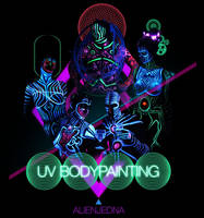 UV Bodypainting promo img by Alienjedna