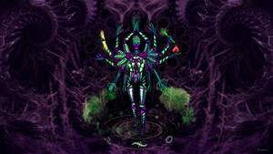 UV Goddess - twelve Handed - Fractal creator by Alienjedna