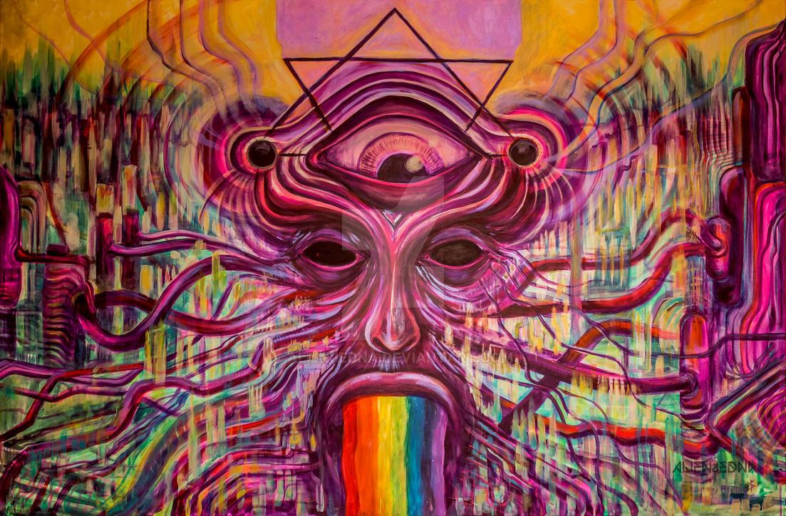 Many-Faced God by Alienjedna