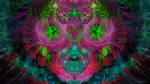 Fractal visitor walpaper  4K (3840x2160) by Alienjedna