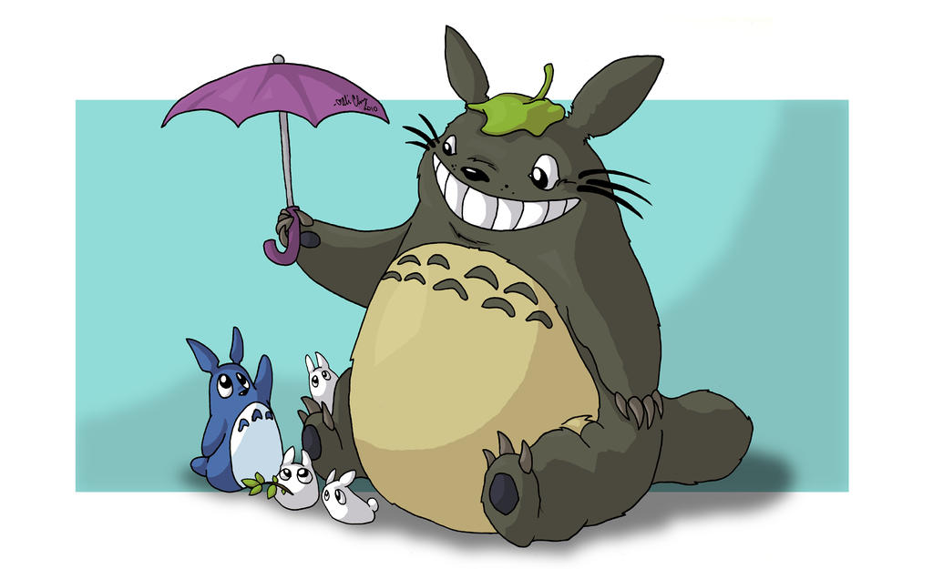 Totoro May: GA: Totoro Neighbors By Aliceapproved On DeviantArt