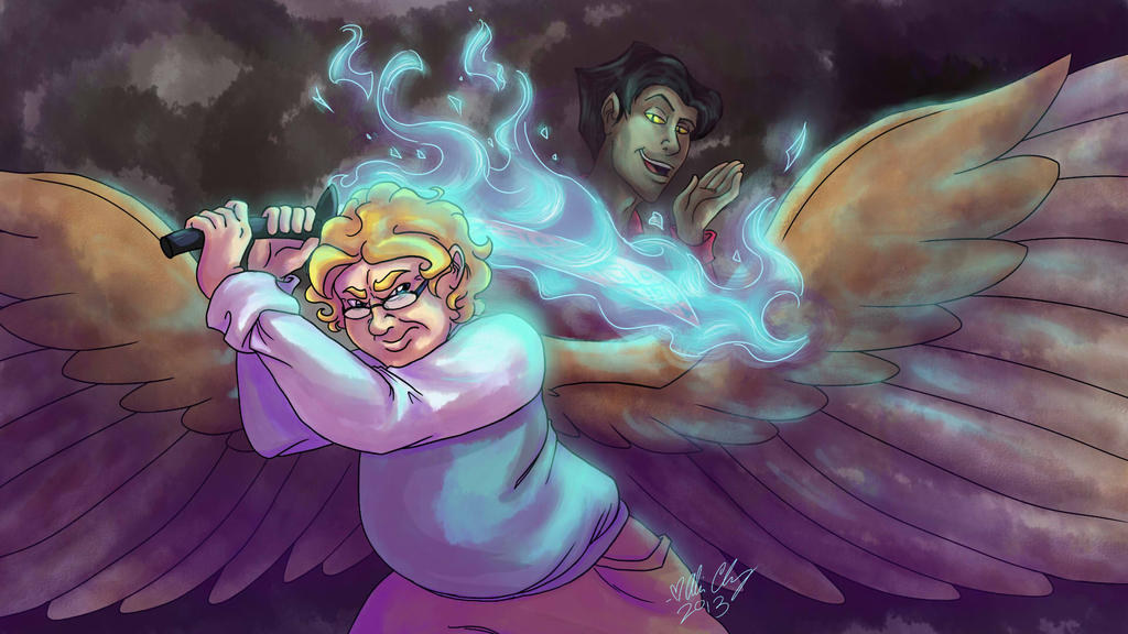 GO: Angry Aziraphale by aliceapproved