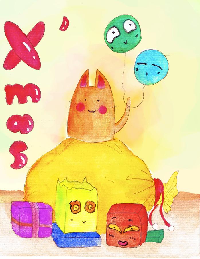 Merry Xmas xDDD by Shaku-sama