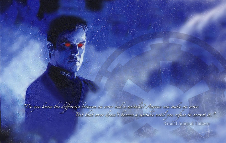 SW Thrawn: Errors and Mistakes by CayaStrife