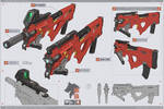 SMG RD-31 NIHT MODEL 02-BULLPUP