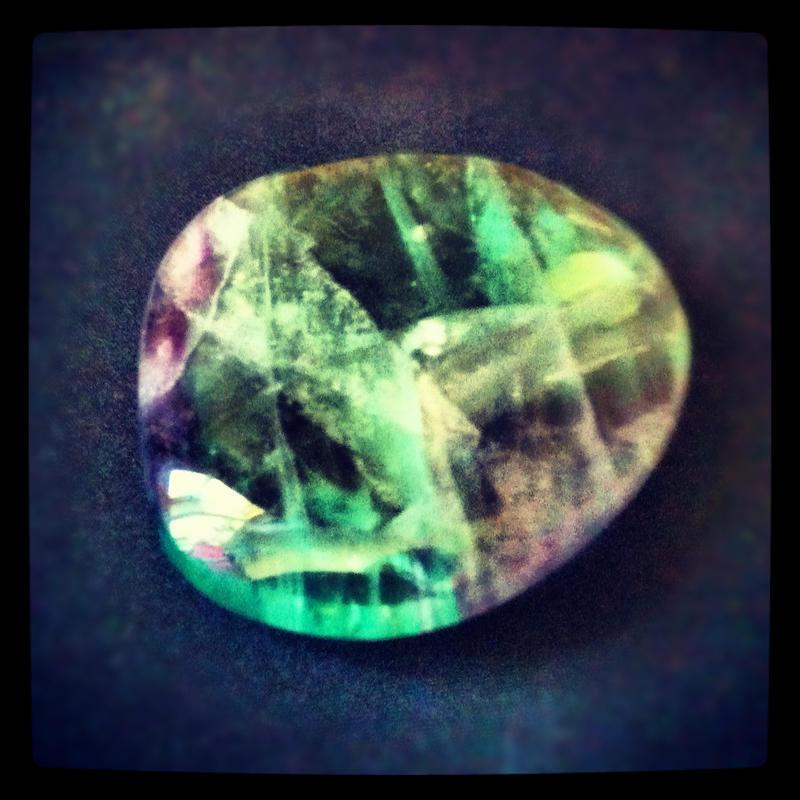 Random piece of fluorite. by NakuraXchann