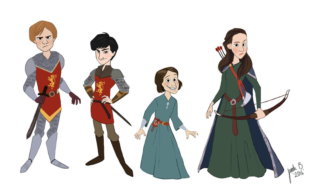 The Lion The Witch And The Wardrobe Movie Characters