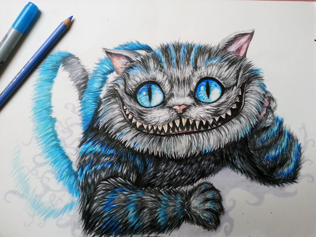 Cheshire Cat by Vallynia