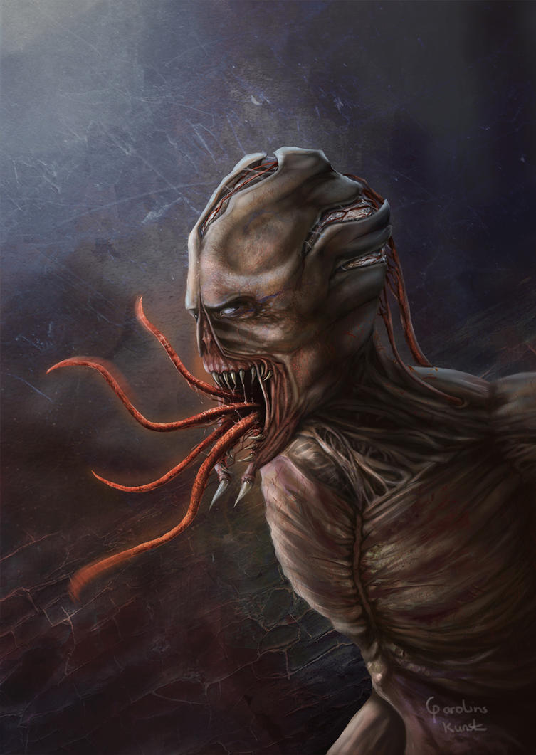 Human Monster by Vallynia