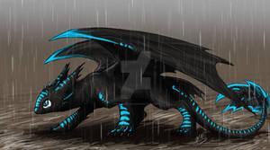 Night Fury in the Rain