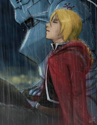 FMA: Rain by Fyre-Dragon