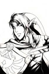 Hylian Knight by Fyre-Dragon