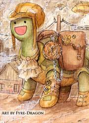 #122 - Steampunk Stan by Fyre-Dragon