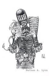 Judge Death by natelyon
