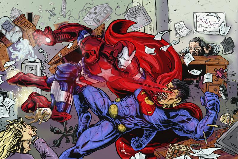 Iron Patriot Vs Ultraman by natelyon on DeviantArt