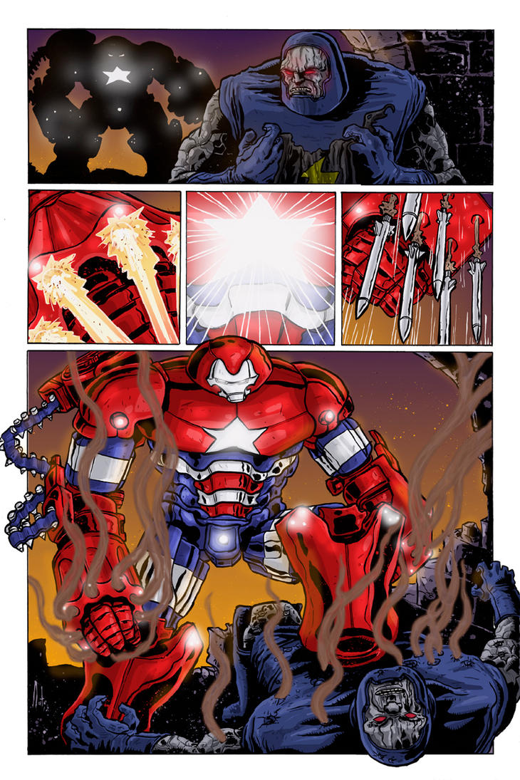 Iron Patriot Vs Darksied colours by natelyon on DeviantArt