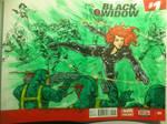 Black Widow Sketch Cover
