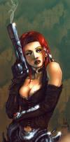 Awesome Durham Red gungirl2 by natelyon