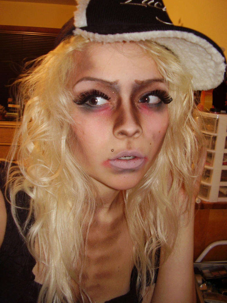 halloween makeup zombie girl - photo #34