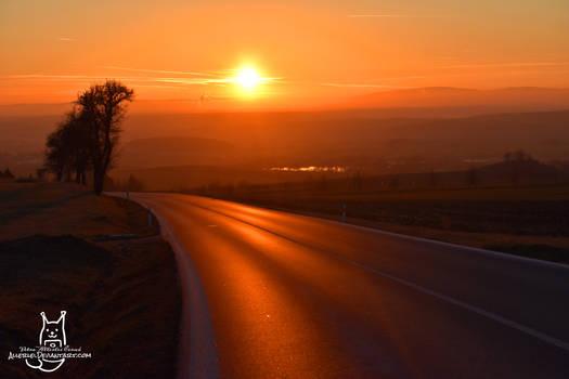 Bohemian sunset