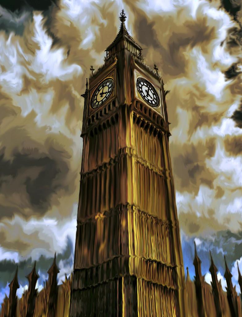 Big Ben by Erulisse-Moonglitter