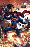 SUPERMAN UNBOUND Colored