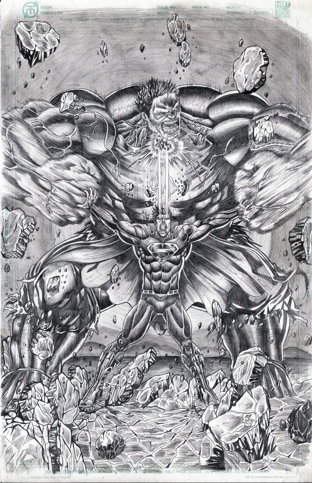hulk vs superman coloring pages - photo#23