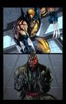 Wolverine Vs. Darth Maul Page 1
