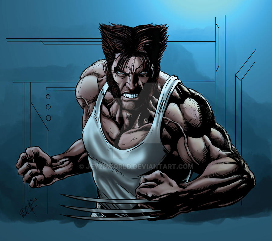 The Wolverine by jey2dworld