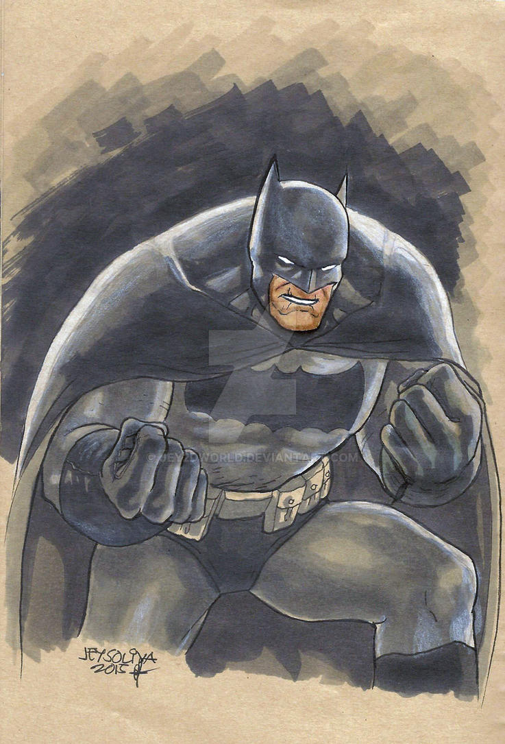 Dark Knight by jey2dworld