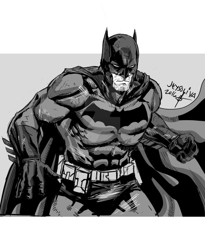 batman sketch by jey2dworld