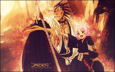 Kenpachi and Yachiru by J-A-I-D-E-N on DeviantArt