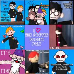 +Potter Puppet Pals by wolfishteardropp