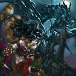 Cazadora de Demonios vs Leviathan