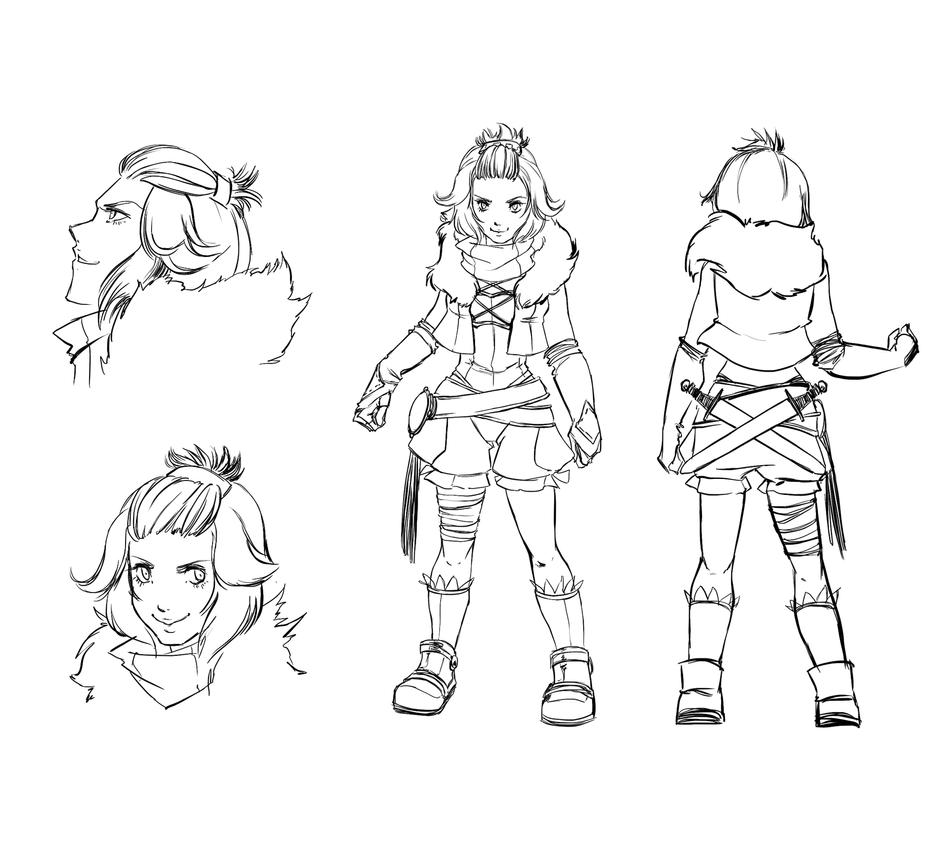 Character Design, Fanatico by YunaXD