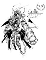 Inktober 23 - Grille by YunaXD