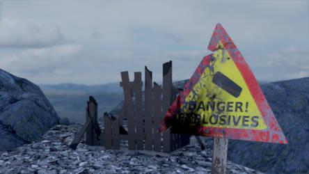 Danger by 3dnett