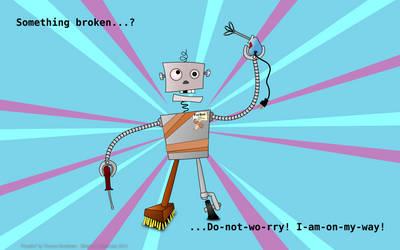 Fix-bot3000I by 3dnett