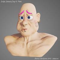 Sculptjanuary Day 13 - Punk