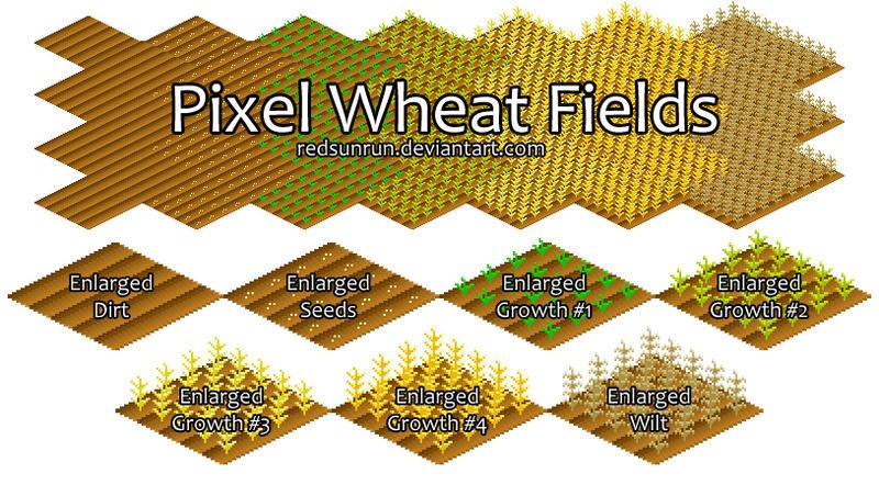 Pixelwheatfields by TheFlyinFerret