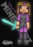 TheFlyingFerret - Minecraft Character - In Color by FerretJAcK