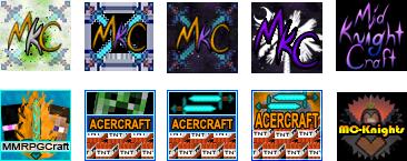 Minecraft Server Icons by FerretJAcK