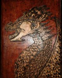 Dragon Wood Buring by FerretJAcK