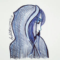 Hooded Girl by FerretJAcK