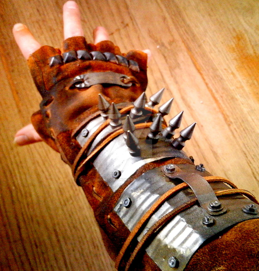 how to make a bionic gauntlet